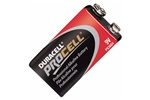 9V Duracell Procell Alkaline Batteries, PC1604BDK, 12 Batteries/Box
