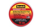 Scotch Vinyl Red Electrical Tape, ONLY 16 ROLLS IN STOCK
