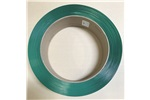 "1/2"" x .025"" Hand Grade Green Smooth Waxed Polyester Strapping, Free Shipping Eastern  U.S. See Note Below"