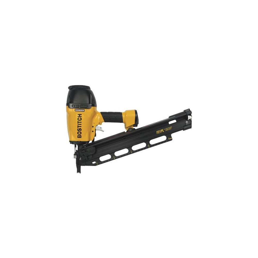 BOSTITCH F21PL 21° PLASTIC COLLATED FRAMING NAILER/METAL CONNECTOR ...