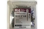 "10 X 3-1/8"" R4 MULTI-PURPOSE GRK SCREWS, 01137, (2 IN STOCK)"